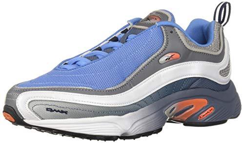 Reebok Unisex Adult's Daytona DMX Sneaker, Blue Slate/Bunker Blue/Lava/Grey/Shark, 6 M US