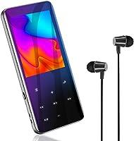 Bluetooth5.0 MP3プレーヤー 音楽プレーヤー 2.4インチHD大画面/3D曲面 16GB内蔵 128GBまで拡張可能 スピーカー内臓 SDカード対応 超軽量 ワンタッチ録音 FMラジオ多機能 ポータブルオーディオプレーヤー...