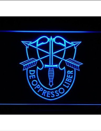 (USASFC US Army Special Forces Neon Light Sign , 220-240v)