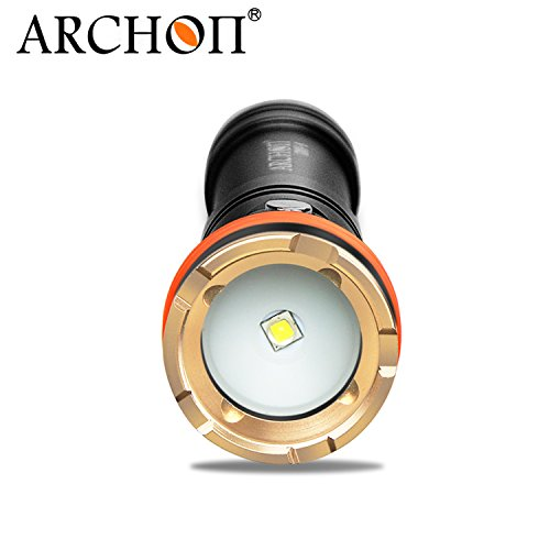 ARCHON D11V II / D11V-II Diving Torch CREE XM-L2 U2 LED max 1200LM 110 degree Angle beam 100 Meters underwater dive flashlight by ARCHON (Image #3)
