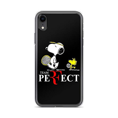 iPhone XR Pure Clear Case Cover Snoopy and