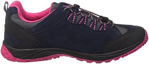 Bruetting Mount Bona, Zapatos de Low Rise Senderismo Para Mujer Azul (Marine/pink)