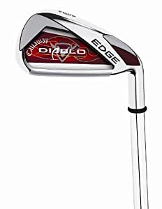 Callaway Golf Diablo Edge Irons, Set of 6 (Right Hand, 6S, Steel, Uniflex)