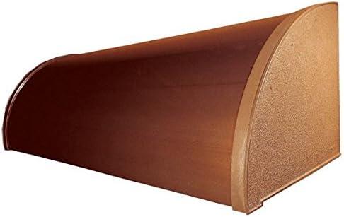 アルフィン庇 霧除けひさし  D520×L2600 AF20-5  シルバー