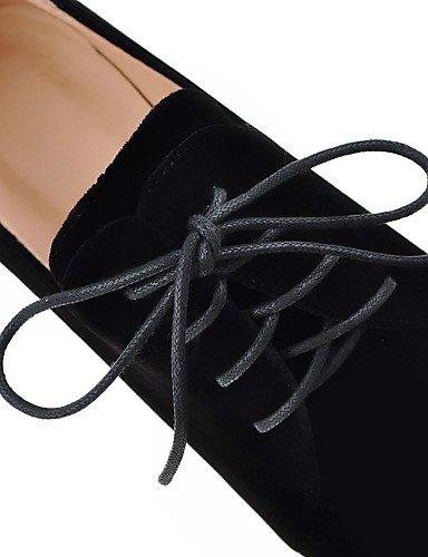 Oklok Black Eu36 décontracté chaussures Épaisse robe mode Bottes us6 Femmes Talons Carrière D'autres Bottes Talon Arrondi Uk4 bout Bureau amp; Xzz Bien Automne Noir Cn36 Rr4nRq