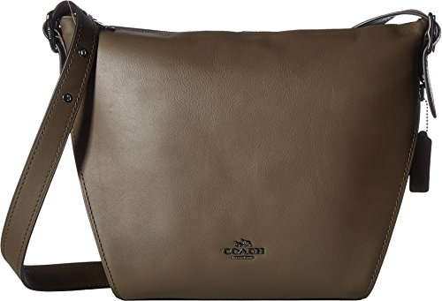 COACH Women's Dufflette in Natural Calf Leather Dk/Fatigue One Size by Coach