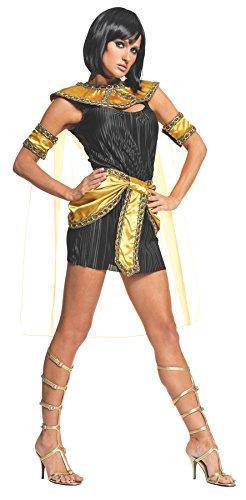 Underwraps Costumes  Women's Cleopatra Costume - Nile Princess, Black/Gold, Large -