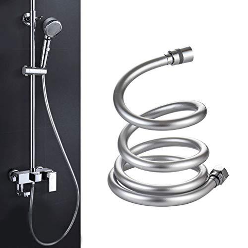 2019 PVC High Pressure 1.5m/2m Thickening anti-winding Smooth Shower Hose For Bath Handheld Shower Head Flexible Shower Hose
