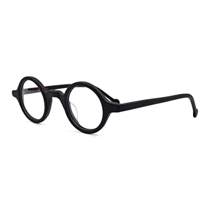 9e4936acb5 Image Unavailable. Image not available for. Colour  AMILLET Vintage Small  Round Eyeglass Frames
