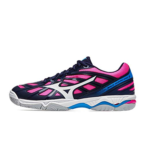 Wave Basket Mizuno 3 Chaussure Women's Hurricane De Aw17 Blue vZqawYdq