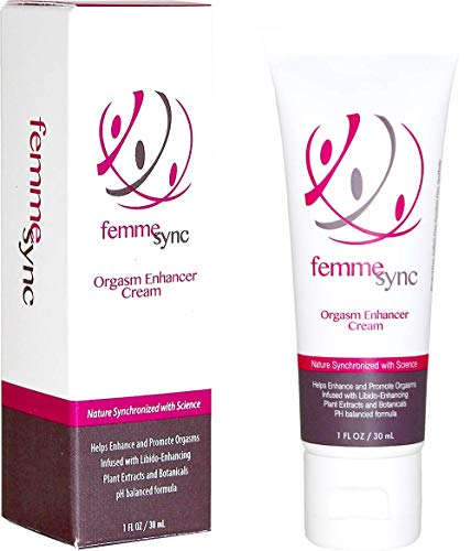Femme Sync - Orgasm Enhancer - Natural Female Arousal Cream - Libido Enhancing Plants and Botanicals - Unscented - Dermatologist Tested, Gynecologist Recommended