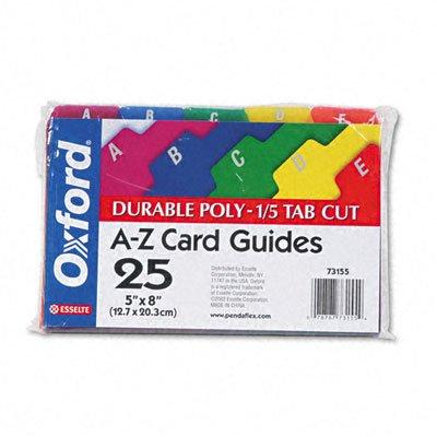 ESS7320BLU - Oxford Unruled Index Cards