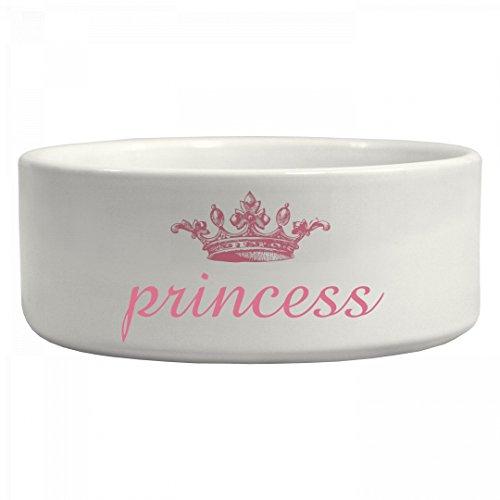 Princess Princess Doggie Bowl: Ceramic Pet Bowl