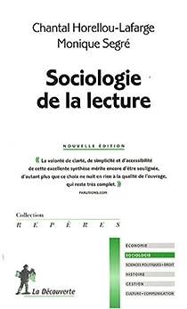Sociologie de la lecture par Horellou-Lafarge