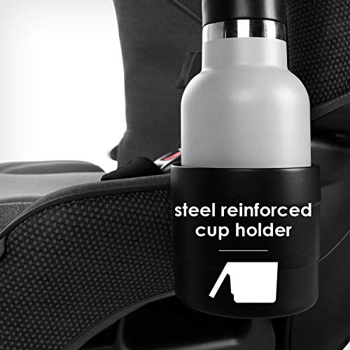415FghXdrpL - Diono Radian 3QX 4-in-1 Rear & Forward Facing Convertible Car Seat | Safe+ Engineering 3 Stage Infant Protection, 10 Years 1 Car Seat, Ultimate Protection | Slim Design - Fits 3 Across, Jet Black