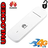 Modem Huawei E3372-510 Unlocked 4G LTE USB Dongle Cat4 150Mbps (4G LTE USA Latin & Caribbean Bands) Support External Antenna
