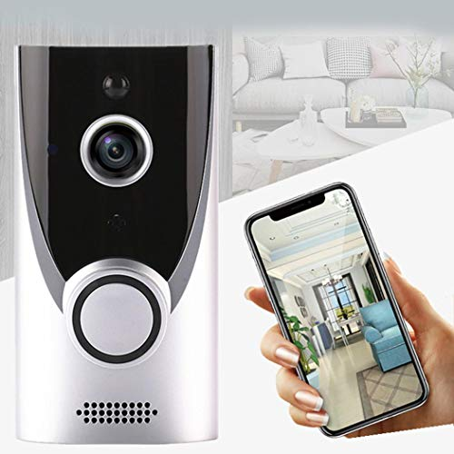 UOFit Home WiFi Smart Wireless Security Doorbell Visual Intercom Recording Video Kits