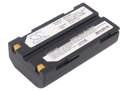 - 2600mAh Battery for BCI Capnocheck II Capnograph Pulse, 29518 38403 46607 52030 C8872A EI-D-LI1 MCR-1821J/1-H HEMISPHERE 427-0043-00 MOLICEL FSPK50086 MCR-1821J/1-H NAVCOM 8-214946 TRIMBLE 92600 92670