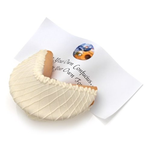White Chocolate Lover's Baby Giant Fortune Cookie