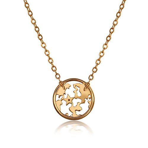 Amazon magicpieces hollow out world map shape necklace fashion amazon magicpieces hollow out world map shape necklace fashion jewelry n0527 jewelry gumiabroncs Choice Image