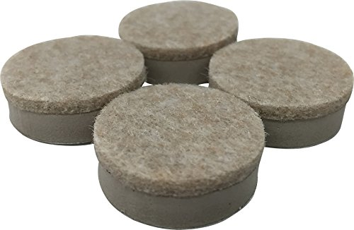 Shepherd Hardware 9916 1-1/2-Inch Heavy Duty Felt Gard Self-Adhesive Leveling Furniture Pads, 4-Pack
