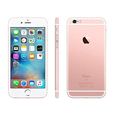 Apple iPhone 6S Plus, GSM Unlocked, 16GB Rose Gold (Certified Refurbished)