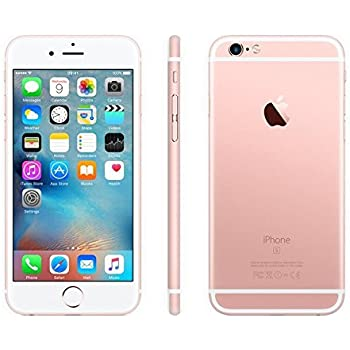 Apple iPhone 6S Plus 16 GB Unlocked, Rose Gold (Certified Refurbished)
