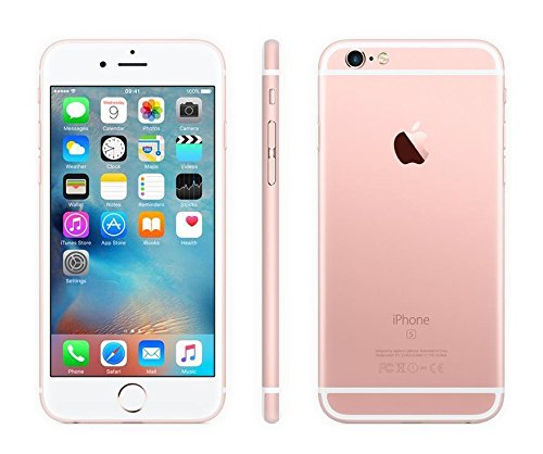 Cheap Unlocked Cell Phones Apple iPhone 6S Plus, GSM Unlocked, 16GB - Rose Gold (Certified Refurbished)