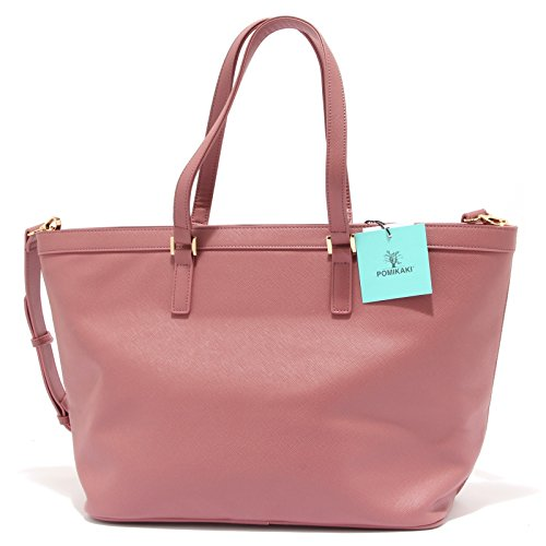 Pomikaki - Shopper ALLEGRA rosa antico
