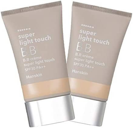 Hanskin Super Light Touch BB Cream 30g x 2, Hanskin Super Light Touch BB Cream 30g x 2ea Set [Parallel Import]