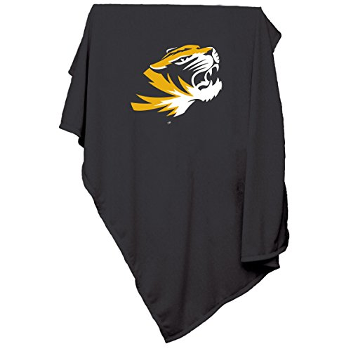 Logo Brands NCAA Missouri Tigers Sweatshirt Blanket