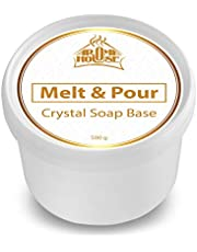 Soap Base Melt and Pour Crystal ST 500g - Glycerin Soap - Raw Soap - Transparent - Handmade - Nice Gift
