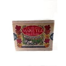 The Metropolitan Tea Company 62WD-100-041 Maple 100 Teabags in Wood Box