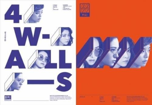 Price comparison product image F(X) [4 WALLS] 4th Album Random Cover Ver CD+Photobook+Photocard FX+Tracking Number K-POP SEALED