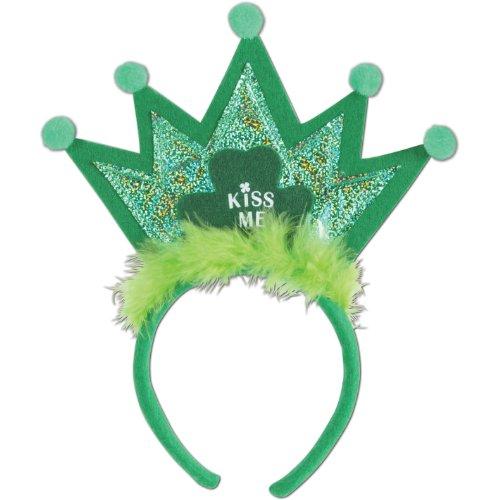 Shamrock Tiara Headband Party Accessory