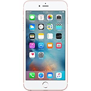 Apple iPhone 6S with FaceTime - 64GB, 4G LTE, Rose Gold: Amazon com