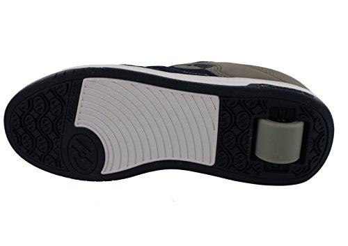 Heelys - Chaussures Avec Deux Roues, La Couleur De Couleur Bleu Marine