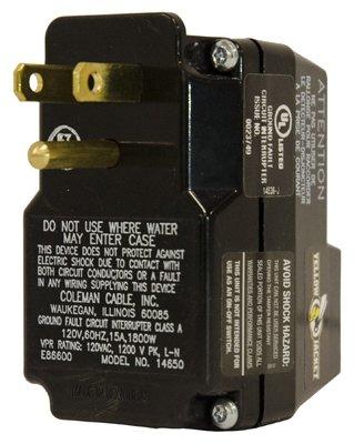 Yellow Jacket Plug-in Gfci 15 Amp 125 V Bx