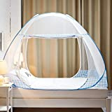 MosquitoNet Mesh Canopy Curtains with Two Openings Princess Mosquito Net Tent Thicken Mosquito Net for Crib to Keep Baby from Climbing Out and Keep Insects Out-d Twinch2