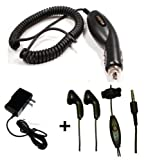 Best Plug In Cell Phone Headsets - Bastex Stereo 3.5mm Hands-Free Headset + Car Kit Review