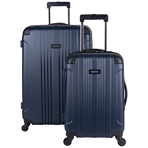 (Kenneth Cole Reaction Out Of Bounds 2-Piece Lightweight Hardside 4-Wheel Spinner Luggage Set: 20