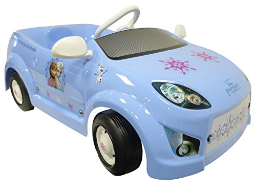 TT Italia 62187-LB-00 Disney Frozen Light Blue Ped Pedal Car