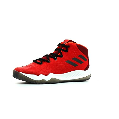 Adidas Crazy Hustle, Chaussures de Basketball Homme, Rouge (Escarl/Negbas/Buruni), 40 EU