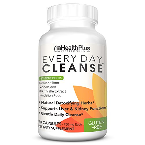 Health Plus Every Day Cleanse, 90 Capsules, 30 Servings