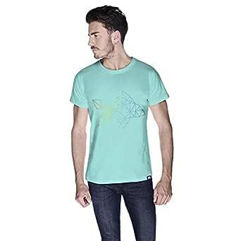 Creo Fish Animal T-Shirt For Men - S, Green