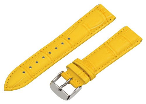 Clockwork Synergy - 18mm x 15mm - (Set of 15) Grain Leather Watch Band fits Philip stein Small by Clockwork Synergy, LLC (Image #2)
