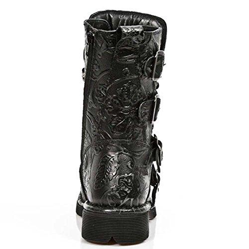 New Rock Comfort Light Noir Bottes M.1473-S43