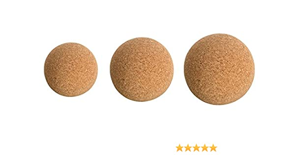 Fascia pelota de corcho - incluso de masaje para la Trigger puntos de zona/acupresión de quimioterapia - Fitness pelota para el entrenamiento de yoga - Fitness ...