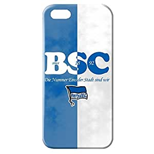 Popular Design FC Hertha BSC Theme Football Club Phone Case Cover For Iphone 5/5s 3D Plastic Phone Case