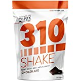 Chocolate Plant Protein and Meal Replacement Shake | 310 Shake is Gluten and Dairy Free, Soy Protein and Sugar Free | Includes Recipe eBook | 28 Servings